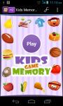 Kids Memory Game New screenshot 1/6