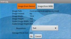 AndroJig screenshot 2/4