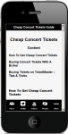 Cheap Concert Tickets 2 screenshot 4/4