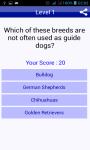 Dog Breeds Quiz Pet Trivia screenshot 3/5