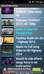 Latest HD Bollywood songs screenshot 2/2