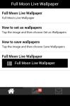 Full Moon Live Wallpaper Free screenshot 2/5