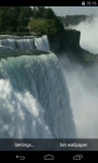 Niagara falls Video Live Wallpaper screenshot 1/4