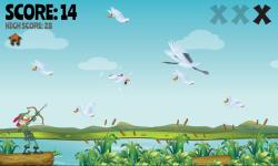Duck Bow Hunt Free screenshot 2/3