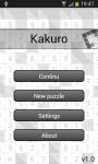Traditional Kakuro screenshot 5/5