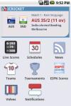 iCricket - Cricket scores and news screenshot 1/5
