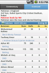 iCricket - Cricket scores and news screenshot 2/5