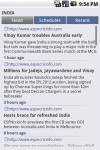 iCricket - Cricket scores and news screenshot 4/5