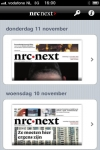 nrc.next screenshot 1/1