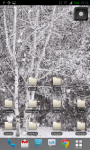 Snow Fall Live Wallpaper Best Free screenshot 2/2