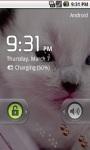 Cute White Kitty Live Wallpaper screenshot 5/5