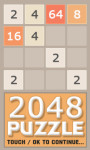 2048 Puzzle - Free screenshot 1/4