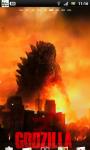 Godzilla Live Wallpaper 1 screenshot 1/3