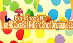 Dinosaur Egg Shoot HD - Line 98 Color Ball Roll screenshot 1/5