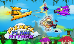 Smashy Pixel Plane Attack screenshot 1/4