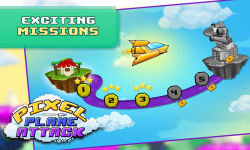 Smashy Pixel Plane Attack screenshot 2/4
