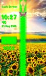 Sunflower Zipper Lock Screen screenshot 6/6