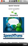SpeechTrans Ultimate Translator Powered By Nuance screenshot 5/5