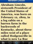 Abraham Lincoln screenshot 1/1