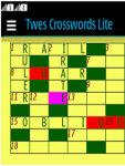 Twes Crosswords Lite Free screenshot 4/4