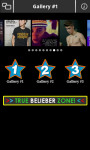 Justin Bieber App for Android screenshot 2/5