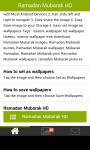 ramadan mubarak wallpaper screenshot 5/6