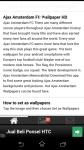 Ajax Amsterdam FC Wallpaper HD screenshot 1/6