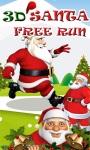 Santa 3D Run screenshot 1/6