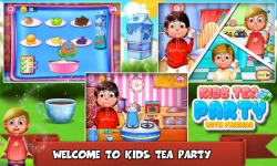 Kids Tea Party With Friends screenshot 1/6