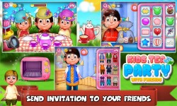 Kids Tea Party With Friends screenshot 5/6