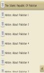 Pakistan General Knowledge for java mobiles screenshot 4/6