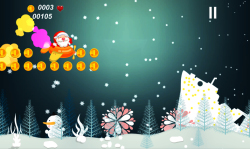Flying Santa - Christmas Game screenshot 1/4