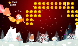 Flying Santa - Christmas Game screenshot 2/4