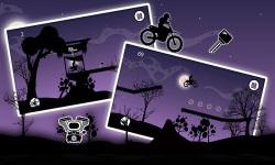 Dark Moto Race : Black Night Bike Racing Challenge screenshot 2/6