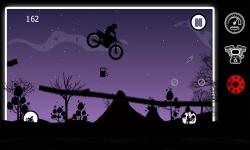 Dark Moto Race : Black Night Bike Racing Challenge screenshot 3/6
