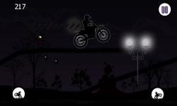Dark Moto Race : Black Night Bike Racing Challenge screenshot 4/6