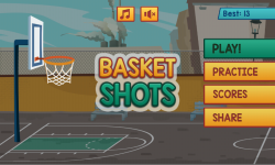Basketball Shooting HD screenshot 1/3