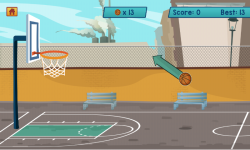 Basketball Shooting HD screenshot 2/3