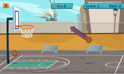 Basketball Shooting HD screenshot 3/3