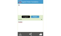 Polish to English Translator screenshot 5/5