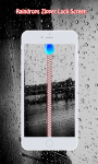 Rain Drops Zipper Lock Screen screenshot 1/6