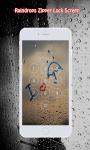 Rain Drops Zipper Lock Screen screenshot 2/6