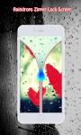Rain Drops Zipper Lock Screen screenshot 5/6
