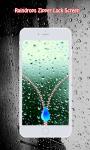 Rain Drops Zipper Lock Screen screenshot 6/6