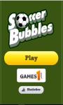 Bubble Soccer Shooter Games screenshot 4/6