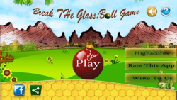 Break The Glass Ball Game screenshot 1/4