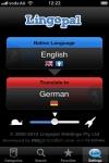 Lingopal German - talking phrasebook screenshot 1/1