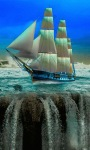 Sailing Waterfall LWP screenshot 3/3