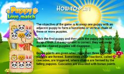 Puppy Love Match screenshot 5/6