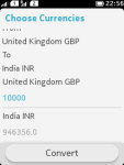 Online Currency Converter screenshot 1/3